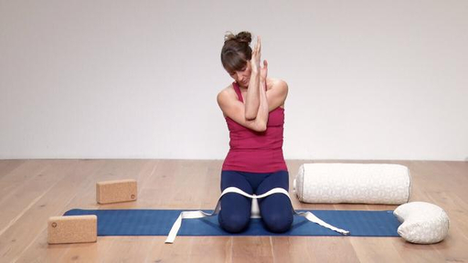 Video thumbnail for: Yoga for a good night's sleep