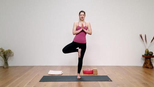 Video thumbnail for: Vinyasa yoga for beginners, part 3: Standing balances