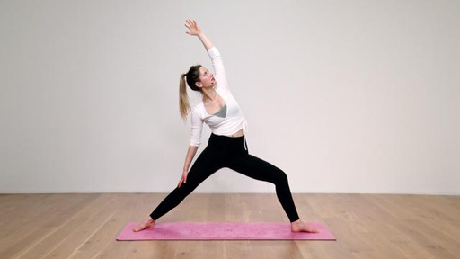 Video thumbnail for: Vinyasa yoga for beginners, part 4: Standing poses