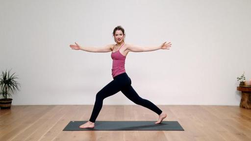 Video thumbnail for: Vinyasa yoga for beginners, part 6: Full flow