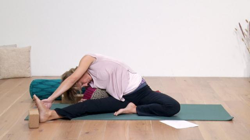 Video thumbnail for: Yoga for stress reduction, PMS and menstruation