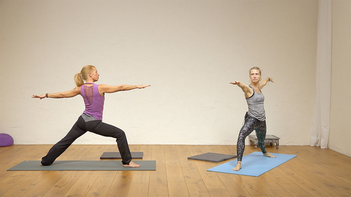 Video thumbnail for: Pranayama + Asana + Meditation: Balance