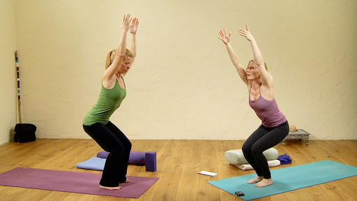 Video thumbnail for: Yin Yang Yoga for the hips and core stability