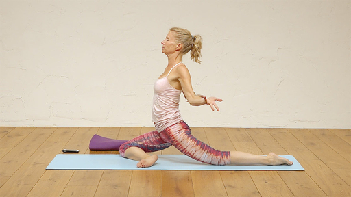 Video thumbnail for: Pranayama + Yoga + Meditation: hips, spinal strength and core