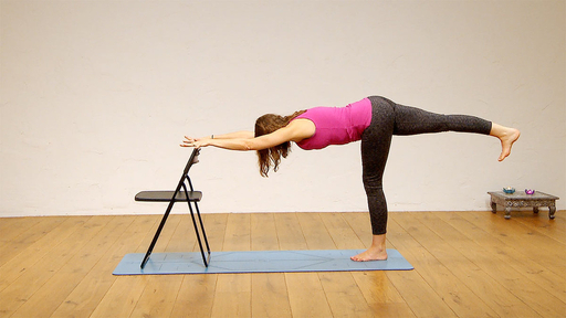 Video thumbnail for: Yoga for your work break - before or after a meeting