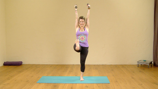 Video thumbnail for: Yoga with weights