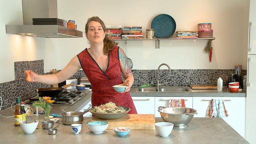 Video thumbnail for: Kapha balancing summer salad