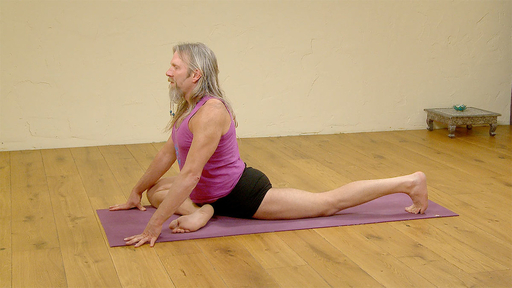 Video thumbnail for: Preparation for pigeon pose