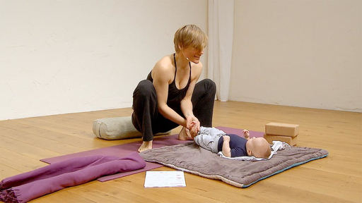 Video thumbnail for: Baby yoga