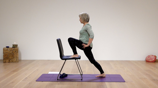 Video thumbnail for: Chair yoga for flexibility