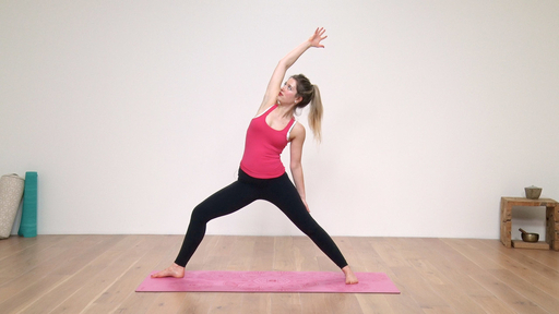 Video thumbnail for: Happy hips, strong core, supple spine