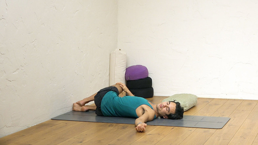 Video thumbnail for: Yoga to help insomnia and prepare for sleep