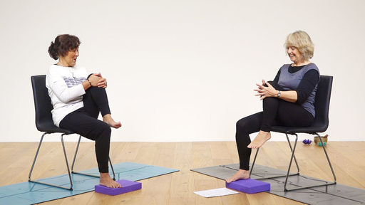 Video thumbnail for: Chair yoga practice for the whole body