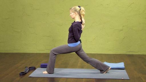Video thumbnail for: Shoulder, arm, hip, leg flow.