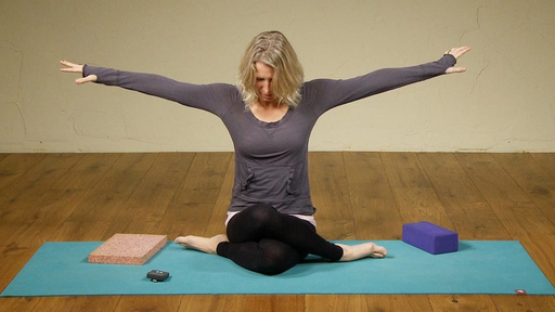 Video thumbnail for: Seated hip opening Yoga class