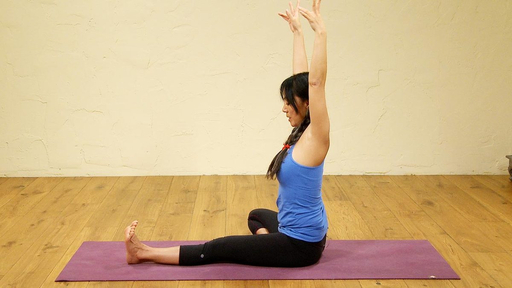Video thumbnail for: A Vinyasa based class with emphasis on hip opening
