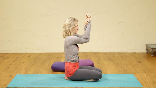 Video thumbnail for: Floor Yoga: Stretch and relax the upper body