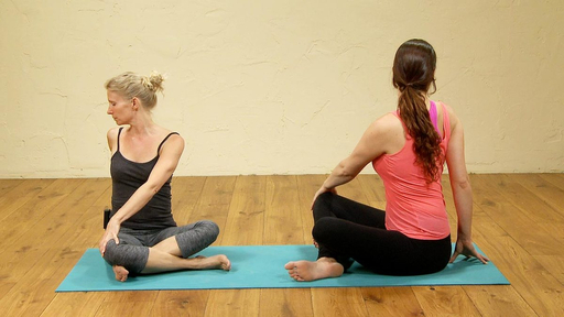 Video thumbnail for: Before bed yoga