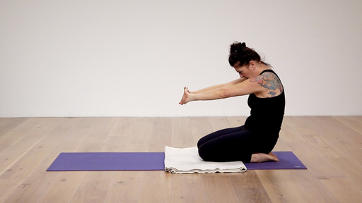 Video thumbnail for: Shoulder and hip flexor medley
