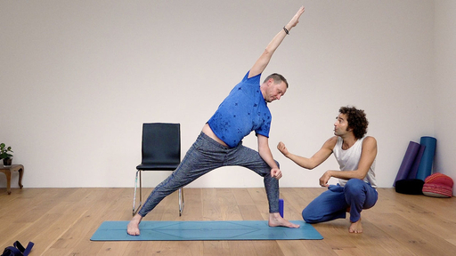 Video thumbnail for: Yoga for the average man