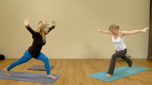Video thumbnail for: Yoga flow into Bliss
