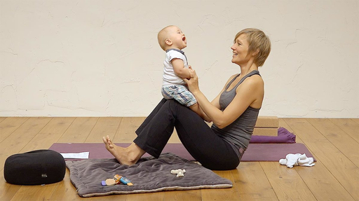 Video thumbnail for: Baby yoga - 6 - 9 months
