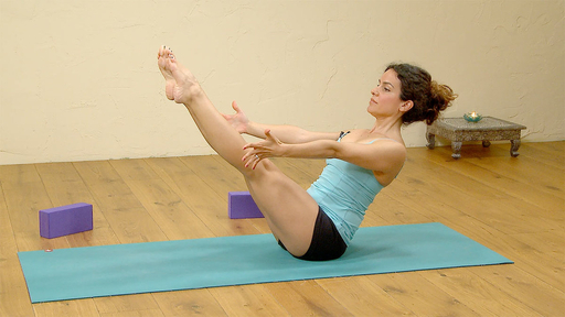 Video thumbnail for: Fundamentals of yoga: core strength