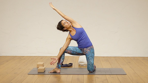 Video thumbnail for: Open your hips and liberate your (lower) back