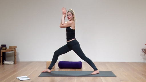 Video thumbnail for: Stress-busting yoga