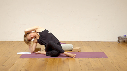 Video thumbnail for: Menstruation yoga
