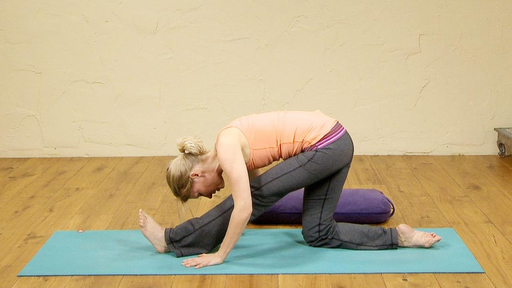 Video thumbnail for: Quick yoga stretch, also great post-running