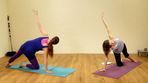 Video thumbnail for: Pregnancy Yoga for experienced practitioners
