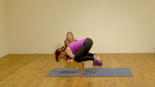 Video thumbnail for: A hip and core focused flow to Crow