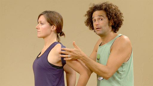 Video thumbnail for: Shoulder opening partner therapy