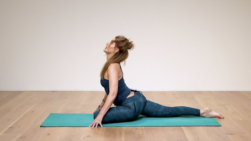 Video thumbnail for: Open and explore your Pigeon pose