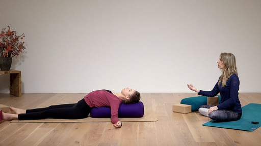 Video thumbnail for: Class 1: Yin yoga - breath focus