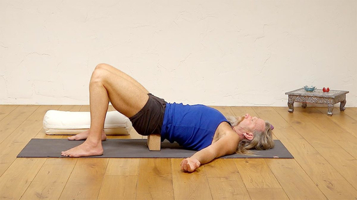 Video thumbnail for: Yoga for lower back pain and sciatica