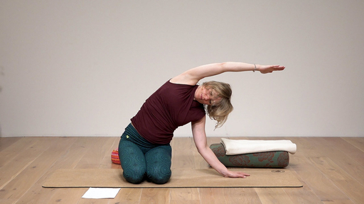 Video thumbnail for: Sun Salutation for shoulders and back