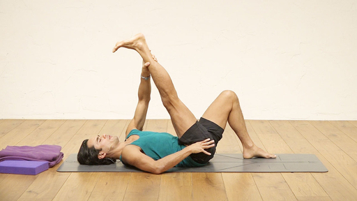 Video thumbnail for: Yoga to help tight or sore hips and alleviate sciatica