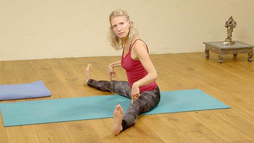 Video thumbnail for: Basic beginners yoga class