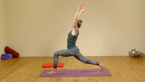 Video thumbnail for: Energizing practice for kapha dosha