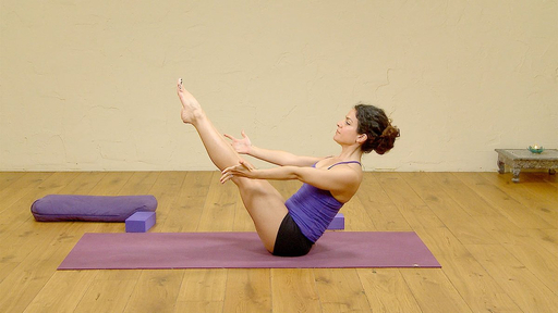 Video thumbnail for: Fundamentals of yoga: working towards crow pose