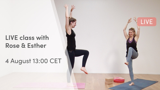 Video thumbnail for: From movement to stillness - LIVE class