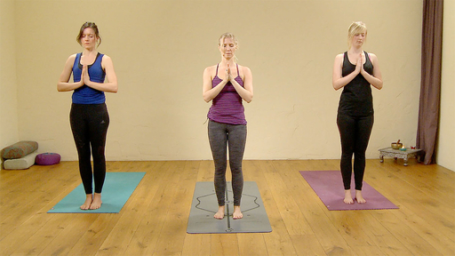 Video thumbnail for: 10 Sun Salutations