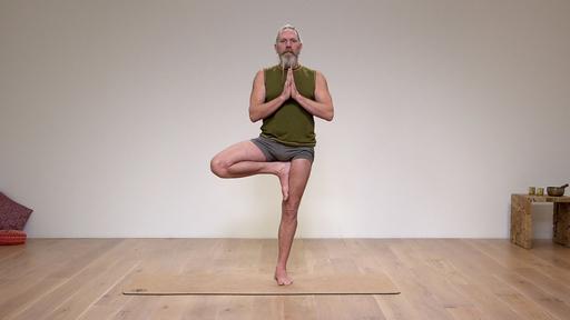 Video thumbnail for: Stillness in posture, stillness in mind