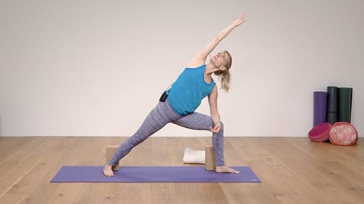 Video thumbnail for: Yoga for Beginners Course Class 5 - Standing poses