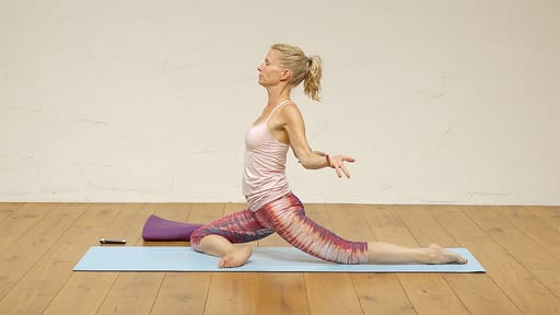 Video thumbnail for: Pranayama + Yoga + Meditation: hips, spinal strength and core