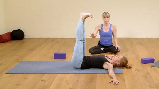 Video thumbnail for: Class 2: Core yoga, get stronger