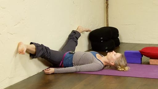 Video thumbnail for: Restorative yoga sequence