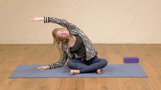 Video thumbnail for: Yoga for better sleep 3